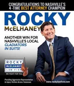 Rocky McElhaney Law Firm Was Named to the Three Best Rated® List Again!